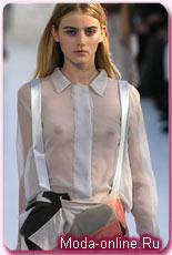8aee46c2ced1de0 Модные женские рубашки, блузки и топы сезона Весна - Лето 2008