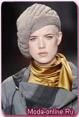 купить модные вязаные шапки мужские