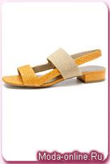 15 самых интересных моделей  летних сандалий без каблука