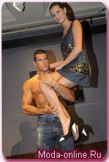 Пако Рабан. Женское платье Mythic из джинсовой ткани