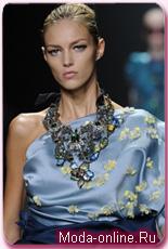 Весна-лето 2009: модные ожерелья