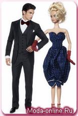 Карл Лагерфельд одел Барби и Кена