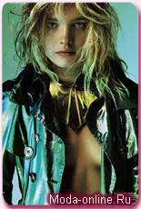 Наталья Водянова – на обложке журнала V: шик во время спада