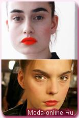 Оранжевые губы – весенний тренд, который стоит испробовать уже сейчас