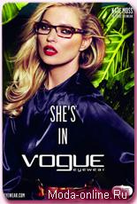 Кейт Мосс стала лицом коллекции очков Vogue