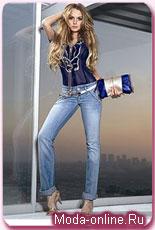 Линдсей Лохан поделилась желанием стать моделью