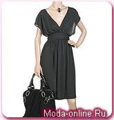 Маленькое черное платье от Stella McCartney.