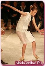 показ дома Prada на Неделе моды в Милане