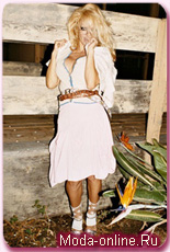 Памела Андерсон – в рекламе весенней коллекции Vivienne Westwood