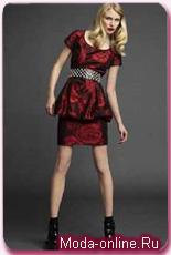 Модный тренд – платье-абажур