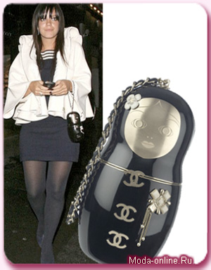 Chanel выпустил сумочку в виде матрешки.