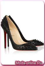 Christian Louboutin studded courts
